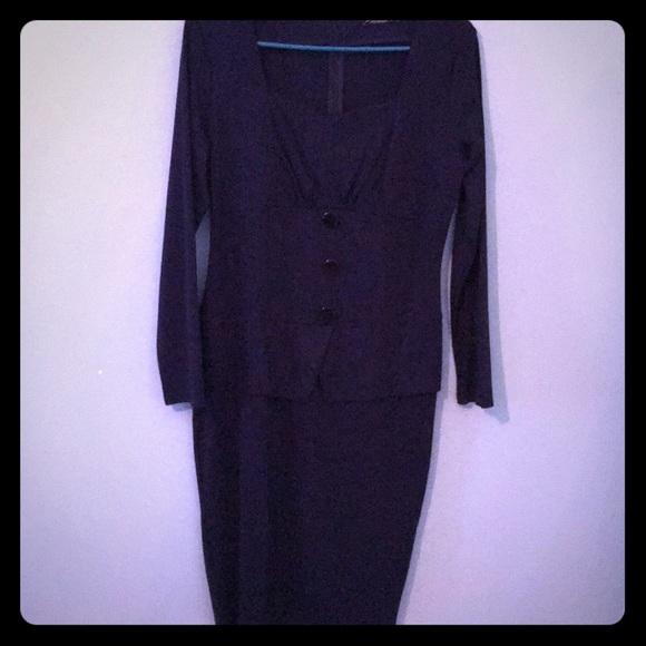 Amika Dresses & Skirts - Blue business dress